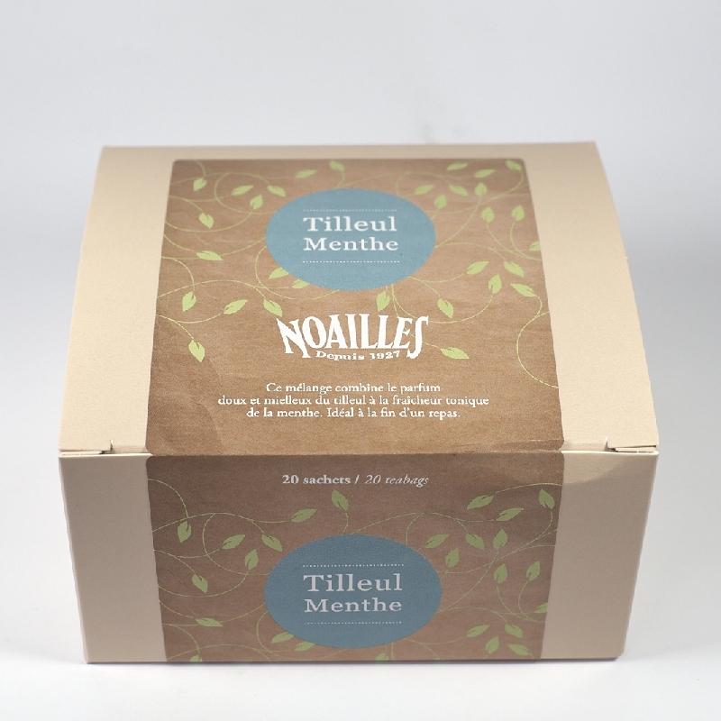 Gamme pro Tilleul-menthe - Torréfaction Noailles