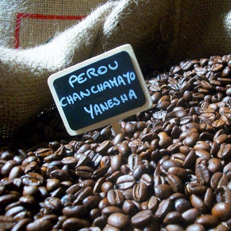 Cafés Pérou Canchamayo Yanesha - Torréfaction Noailles