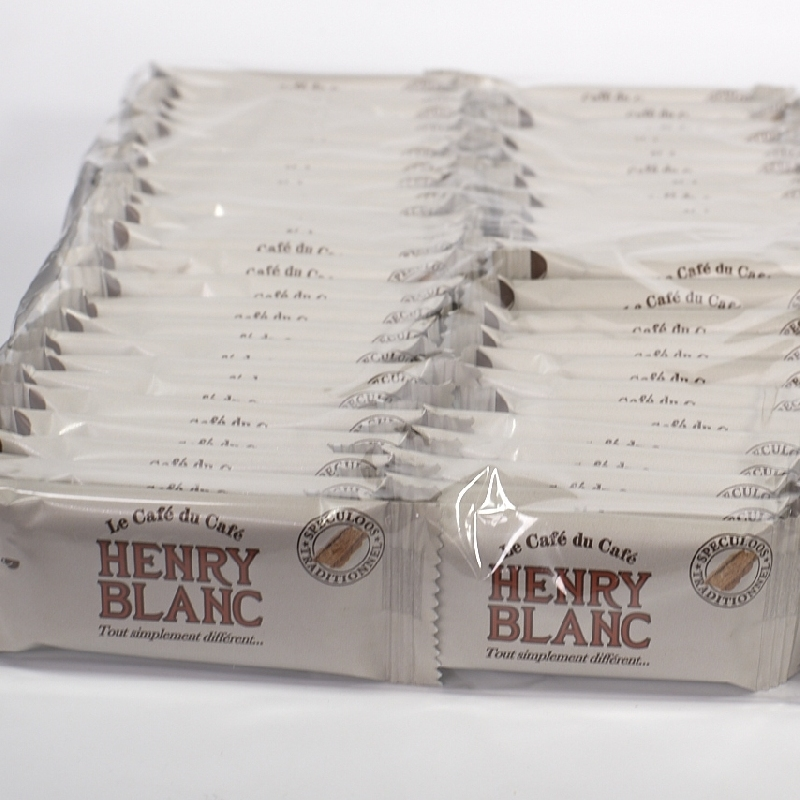 Biscuits Speculoos traditionnel Henry Blanc - Torréfaction Noailles