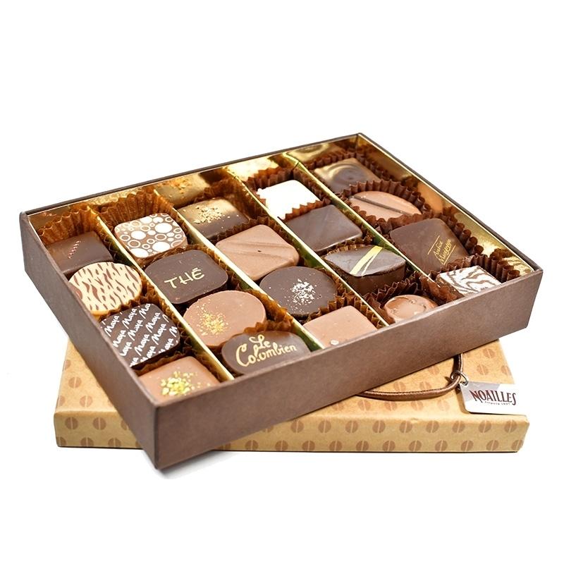 Ballotins de chocolats Boîte 200g - Torréfaction Noailles