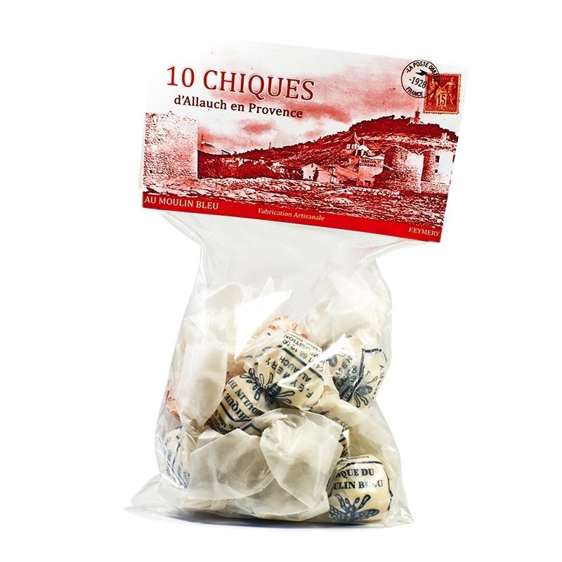 Bonbons à l'ancienne Chiques - Torréfaction Noailles