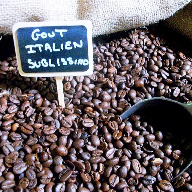Cafés Sublissimo goût Italien - Torréfaction Noailles