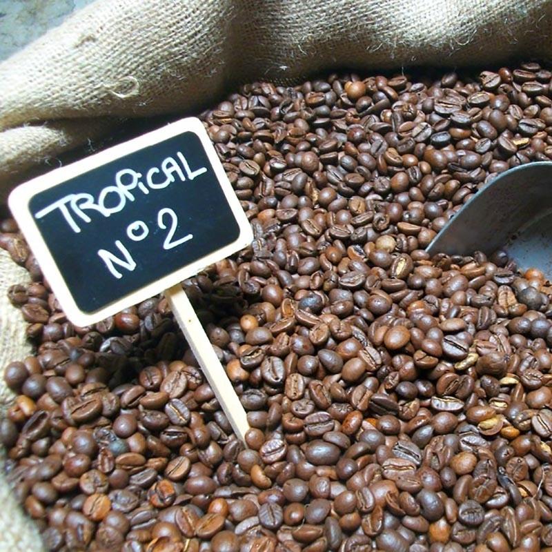 Cafés NOAILLES N°2 - Tropical - Torréfaction Noailles