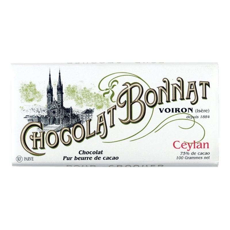 Chocolat Bonnat Chocolat Bonnat Ceylan - Torréfaction Noailles
