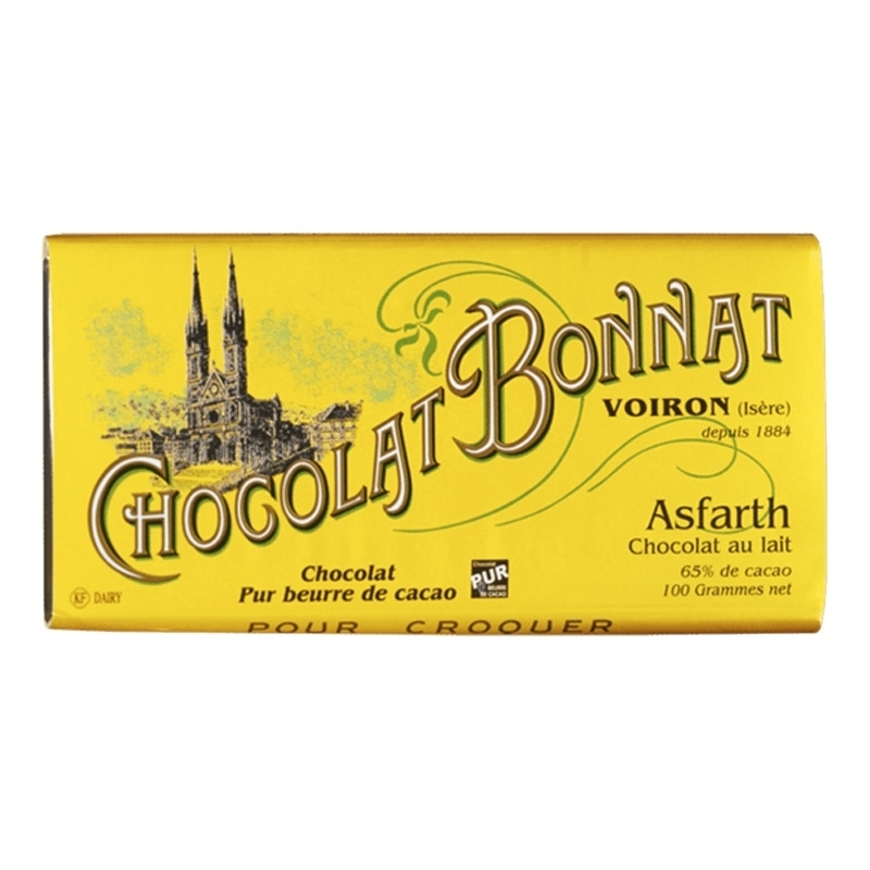 Grands crus Lait Chocolat Bonnat Asfarth - Torréfaction Noailles