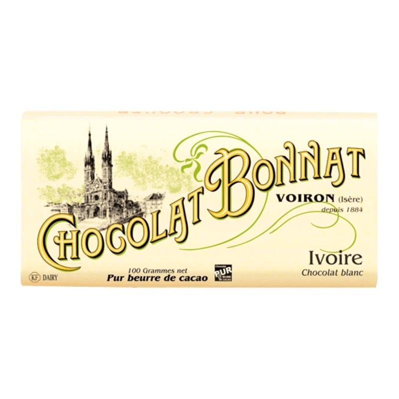 Chocolat Bonnat Chocolat Blanc Ivoire - Torréfaction Noailles