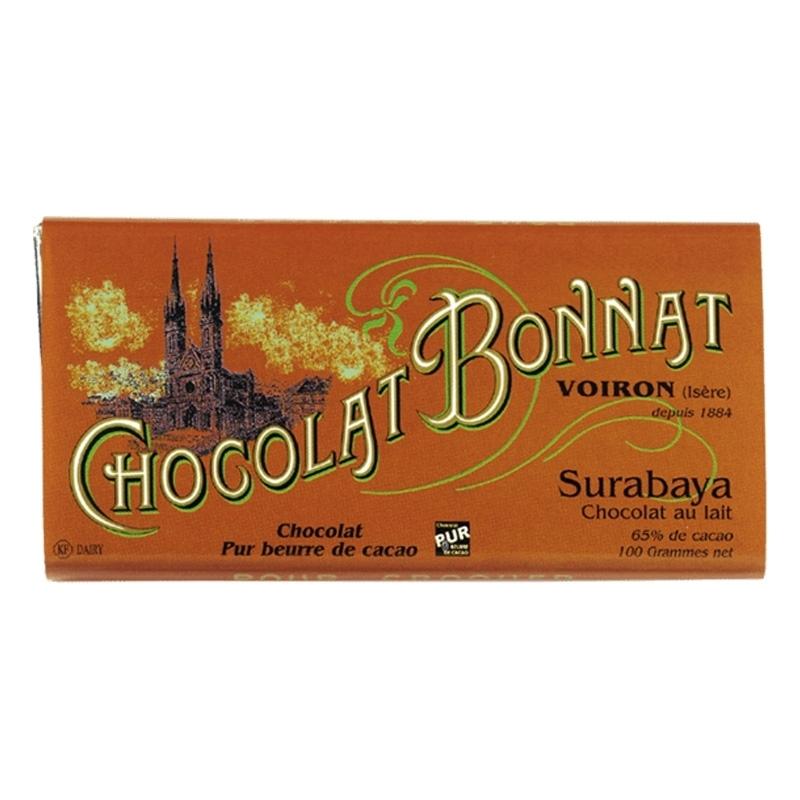Grands crus Lait Chocolat Bonnat Surabaya - Torréfaction Noailles