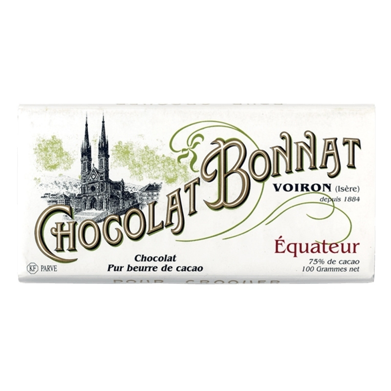 Chocolat Bonnat Chocolat Bonnat Equateur - Torréfaction Noailles