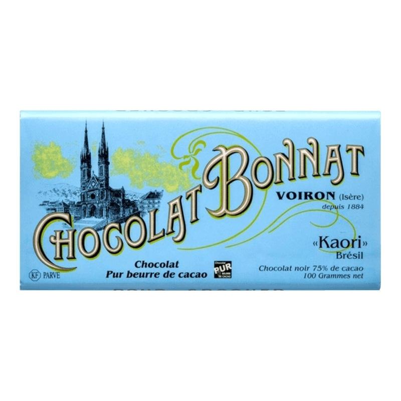 Grands crus d'exceptions noir Chocolat Bonnat Kaori - Torréfaction Noailles