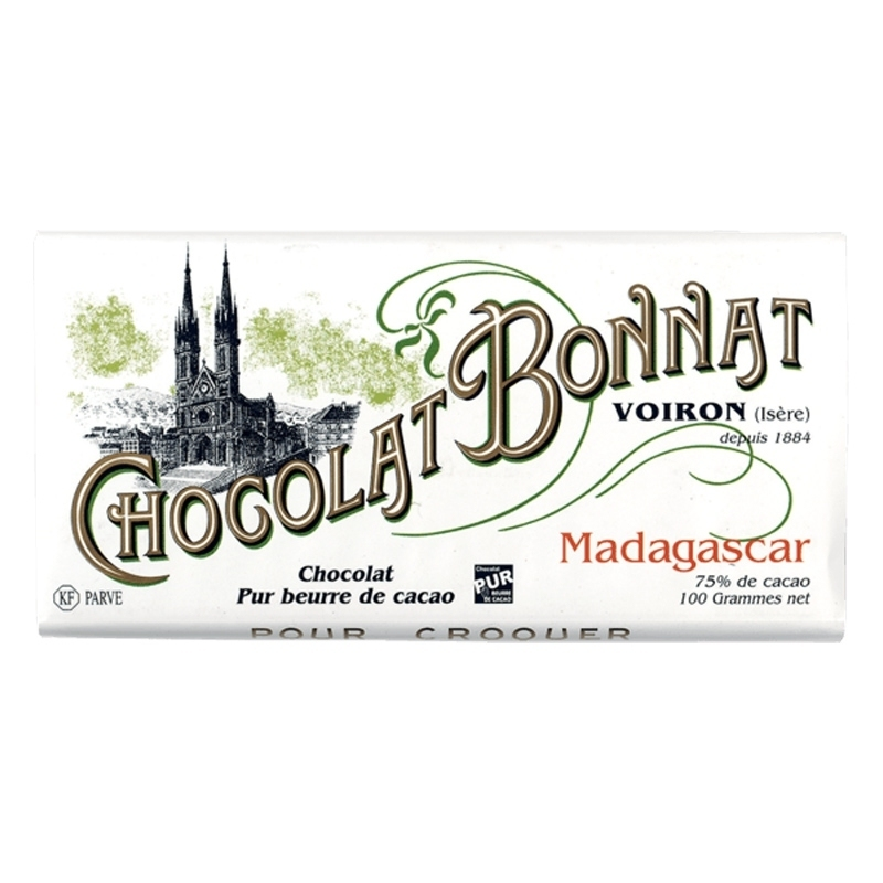 Chocolat Bonnat Chocolat Bonnat Madagascar - Torréfaction Noailles