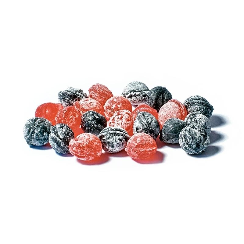 Bonbons à l'ancienne Perlettes Framboise / myrtille - Torréfaction Noailles