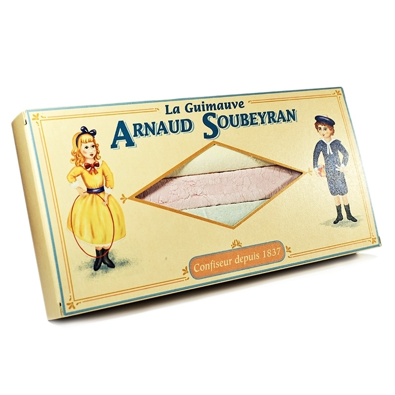 Bonbons à l'ancienne Lanière de guimauve - Etui 5 lanières - Torréfaction Noailles