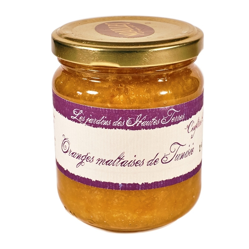 Confitures & gelée Confiture d'Orange Maltaise - Torréfaction Noailles