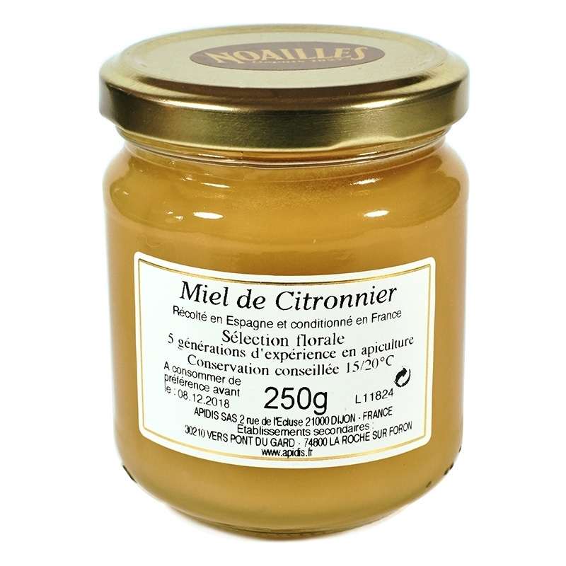 Miels Miel de Citronnier - Torréfaction Noailles