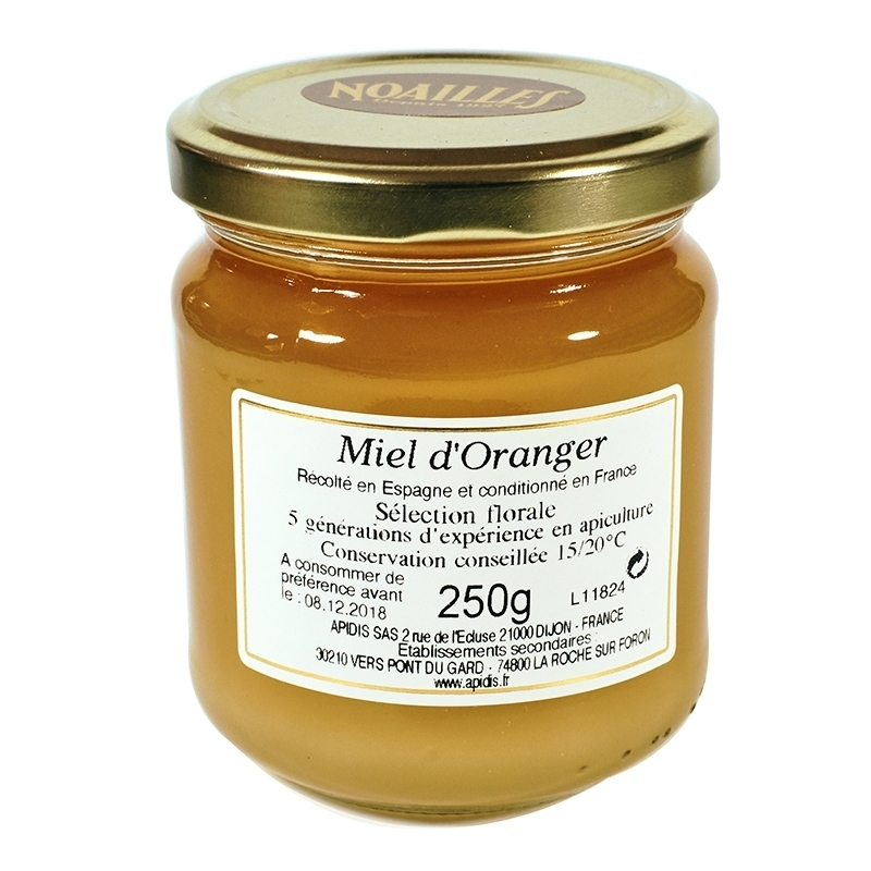 Miels Miel d'Oranger - Torréfaction Noailles