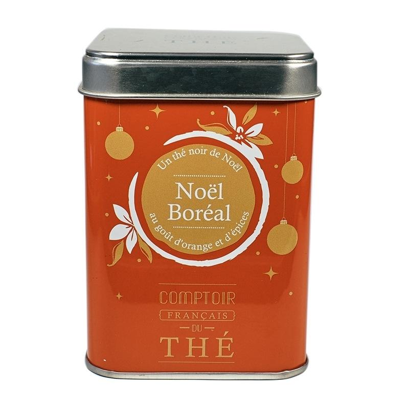 Thés noirs Thé Noël Boréal - Torréfaction Noailles