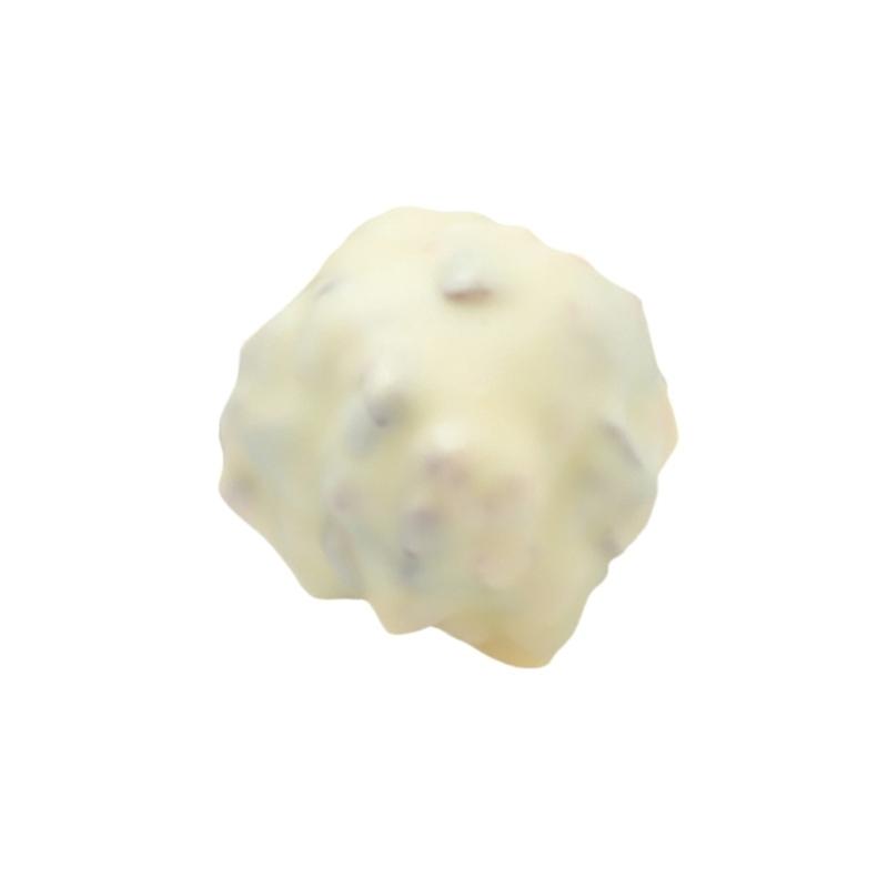 Confiseries chocolatées Rocher Praliné Blanc - Torréfaction Noailles