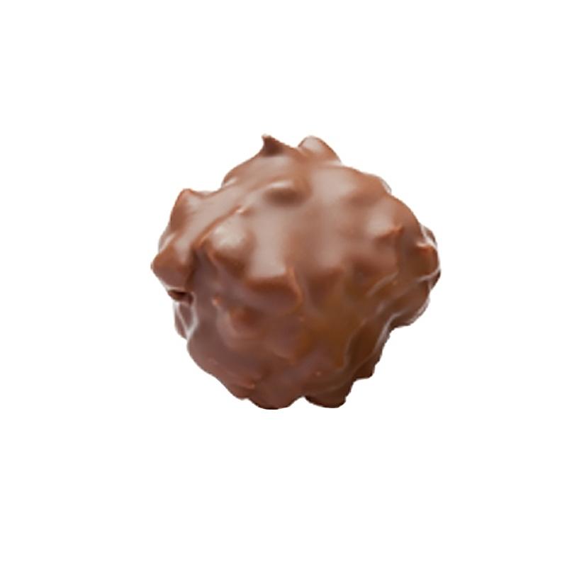 Confiseries chocolatées Rocher Praliné Lait - Torréfaction Noailles