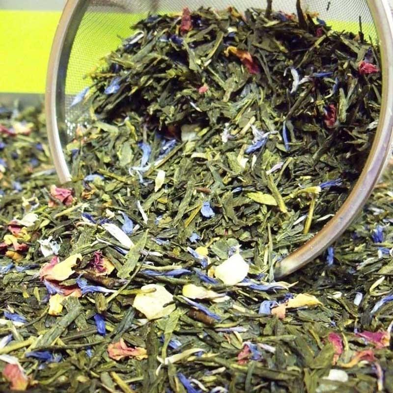 Thés verts Cocktail d'Orient - Torréfaction Noailles