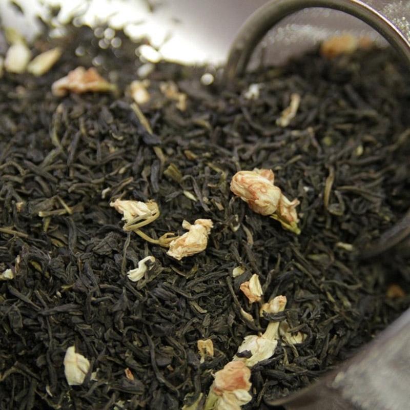 Thés verts Thé au Jasmin avec Fleurs - Torréfaction Noailles