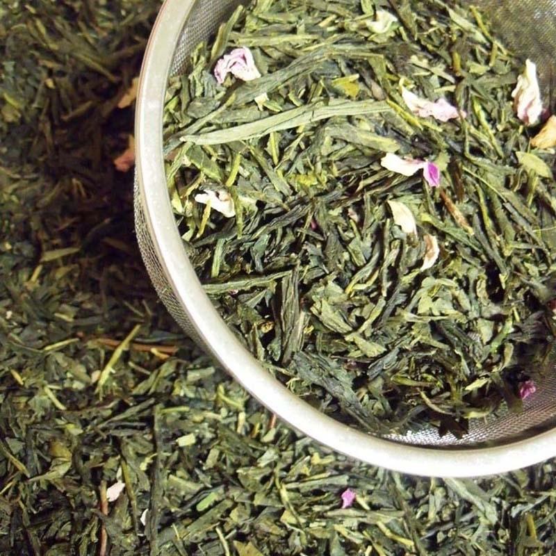Thés verts Rose-Litchi - Torréfaction Noailles