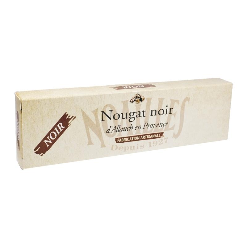 Nougats Barre de nougat noir artisanal - Torréfaction Noailles