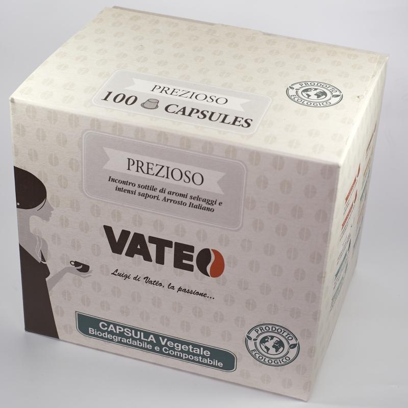 Cafés Boîte de 100 capsules VATEO - Torréfaction Noailles